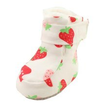 Strawberry Pattern Cute Baby Pre-walker Shoe Infant Casual Shoes