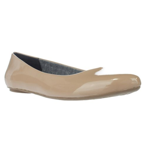 Dr. Scholl's Really Cool Fit Memory Foam Ballet Flats, Sand, 6.5 UK
