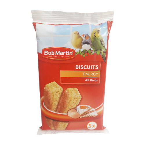 Bob Martin Biscuits for Birds, Treats Rich in Eggs (5 Biscuits)