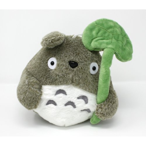 My Neighbor Totoro Plush Soft Toy with Leaf 3281bfd5eb12