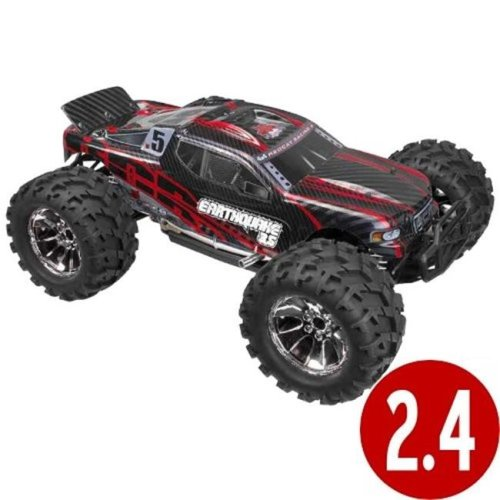 Earthquake 3.5 Scale Nitro Monster Truck - Red