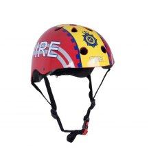 Kiddimoto Children's Bike / Scooter / Skateboarding Helmet - Fire Design