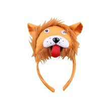 3Pcs Kids Party Funny Party Lion Hats Kids Toy Party Headwear