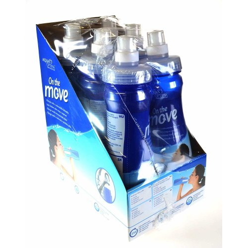 Aqua Optima On The Move Water Bottles with Filters 6 Pack