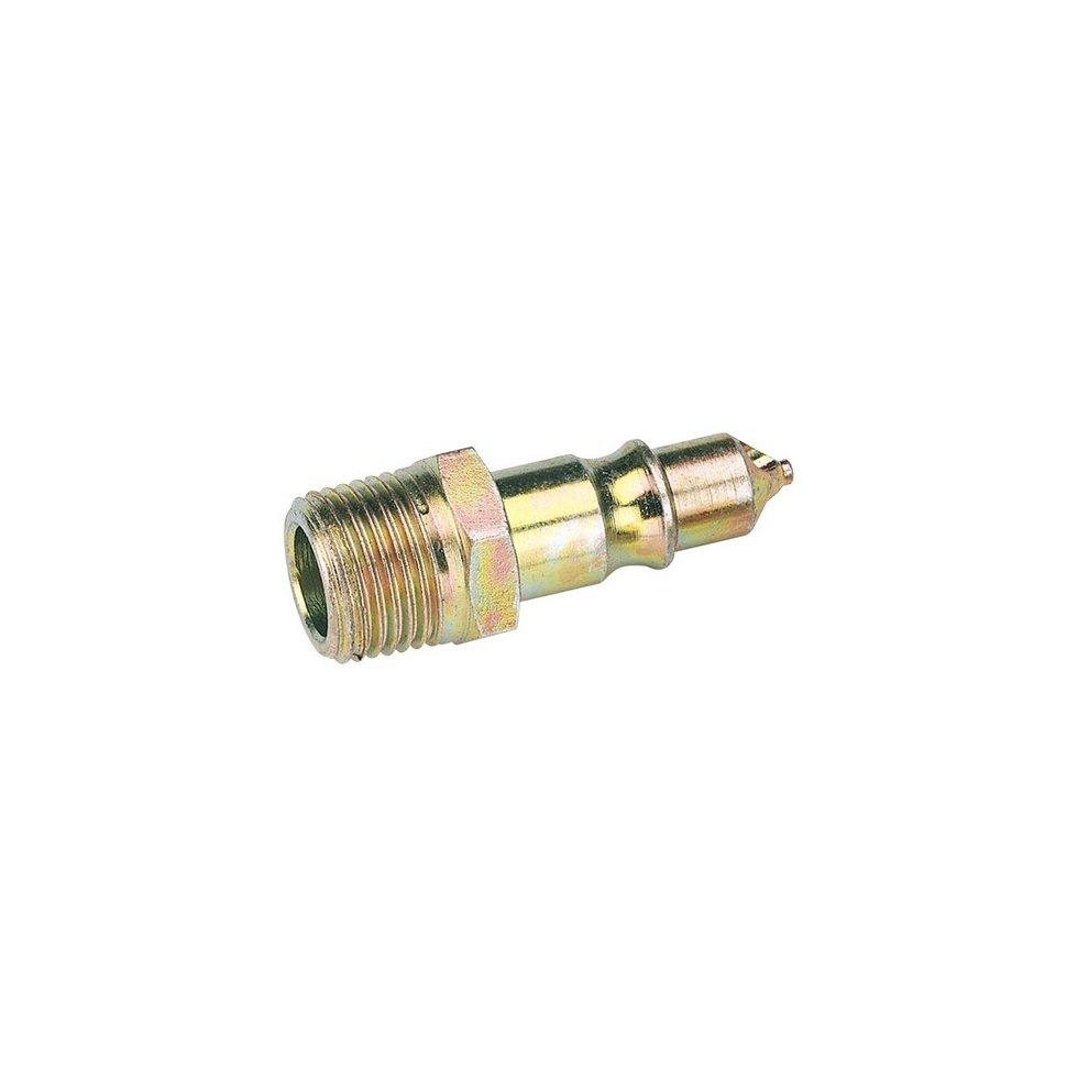 "Draper 25858 1/2"" Male Thread Air Line Screw Adaptor Connectors Pack Of 2"