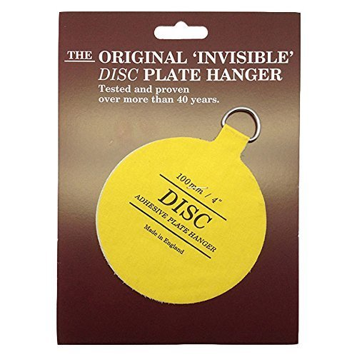 The Invisible Disc Plate Hanger