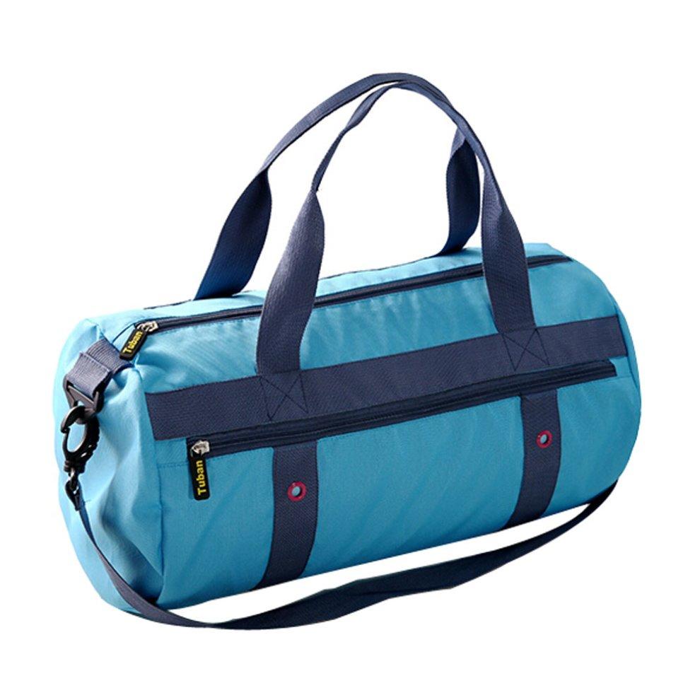 b96f91c27e8e Fashion Waterproof Wet/Dry Separation Bag Swimming Equipment Bags BLUE