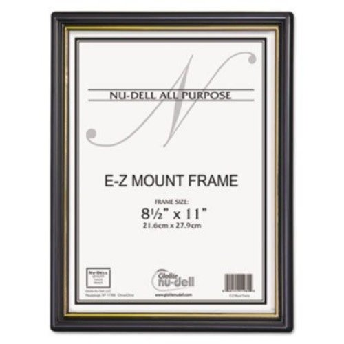 NUD11818 Nu dell EZ Mount Document Frame wTrim Accent