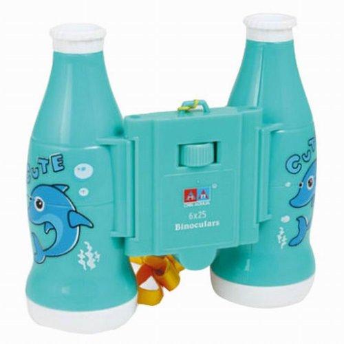 Kids Toy Binocular Telescope Outdoor Science Explore Educational Toys, Blue