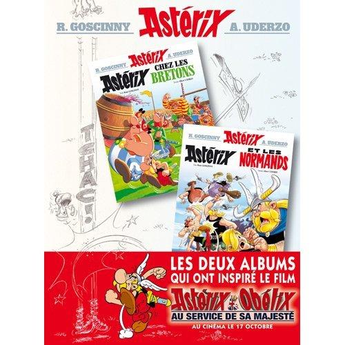 Asterix chez les Bretons/Asterix chez les Normands (album double)