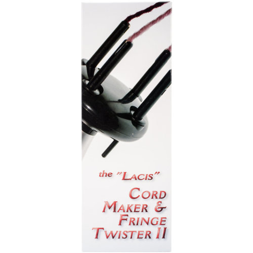 Lacis Cord Maker & Fringe Twister II-2-4 Ply