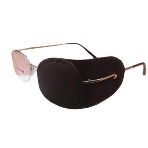 12PCS Amblyopia Eye Mask For Glasses Strabismus Lazy Eye Patches Medium-Black