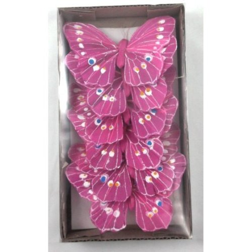 Artificial Feather Butterflies