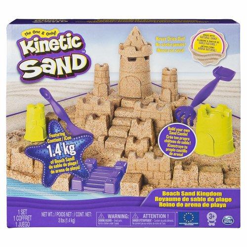 Kinetic Sand - Beach Sand Kingdom Playset