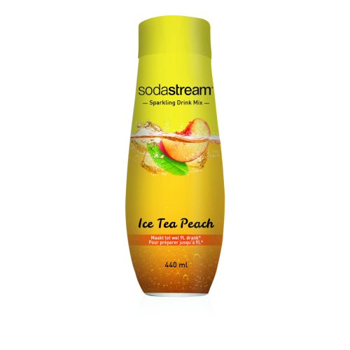 Sodastream Concentrate Syrup 440ml Ice Tea Peach