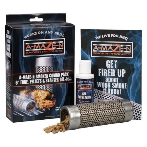 A-Maze-N Products 8592263 Stainless Steel Tube Smoker