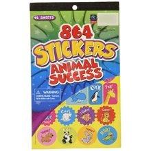 Eureka Stickerbook - Animal Success Learning Playground Sticker Book