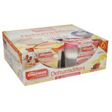 6 Pack Of Scented Dehumidifier Moisture Absorbers