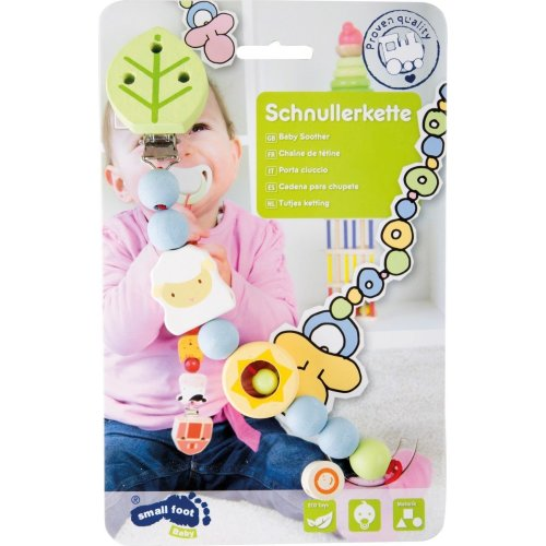 Baby Soother Chain - Sheep