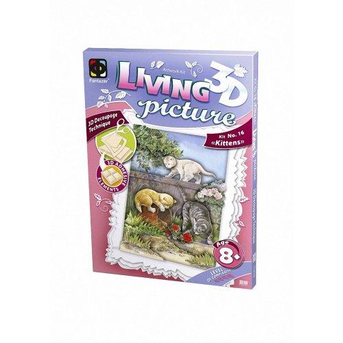 Elf956038 - Fantazer 3d Living Picture - Kittens