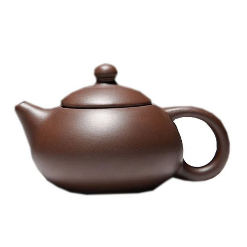 Simple Brown Clay Teapot Handcrafted Teapot