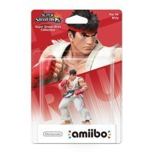 Ryu Amiibo Character - Super Smash Bros. Collection Nintendo Wii U/3DS No.56