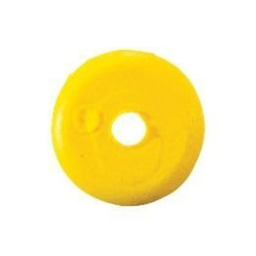 Team Catfish TCSB Sinker Bumperz Heavy Duty Knot Protectors, 10-Pack, Neon Yellow