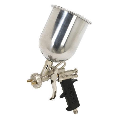 Sealey SG4 Gravity Feed Spray Gun 1.4mm Set-Up
