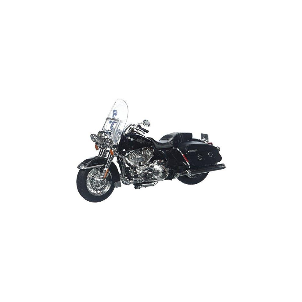2013 HARLEY DAVIDSON FLHRC ROAD KING CLASSIC BLACK MOTORCYCLE 1//12 MAISTO 32322