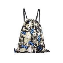 Travel Storage Bags Sports Backpack Drawstring Bag, Camouflage Pattern