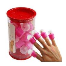 So Beauty 20 Pcs Wearable Nail Soaker Acrylic Polish Remover Tool