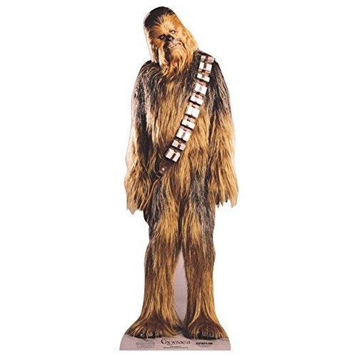 Official Star Cutouts Star Wars Chewbacca Lifesize Cardboard Cutout