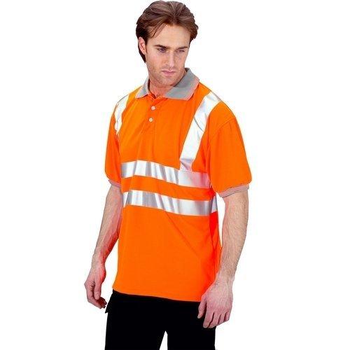 Click BPKSENORXXL Hi Vis Orange Polo Shirt XXL