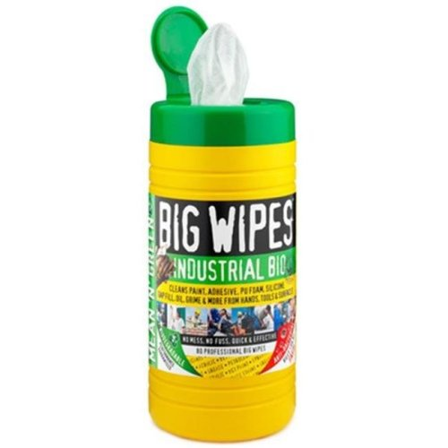 Big Wipes BWP6002-3 Industrial Bio Pre-Moisten Industrial Strength Biodegradable Cleaning Wipe