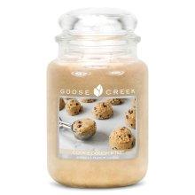 Goose Creek 24oz Large Scented 2 Wick Candle Jar Cookie Dough Bites