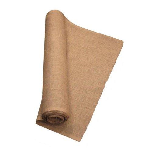 LA Linen 40IN-Burlap-30YardRoll 30 Yards Burlap Fabric, Natural - 40 in.
