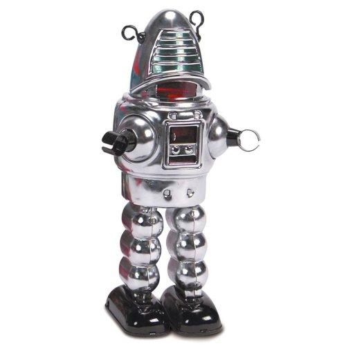 Mechanical Chrome Planet Robot