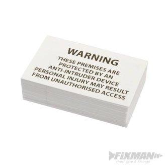 Fixman Prickle Strip Warning Sign Warning Sign - 197306 Ironmongery Pest - FIXMAN 197306 Ironmongery Pest Control Warning Sign Pickle Strip DIY Tools