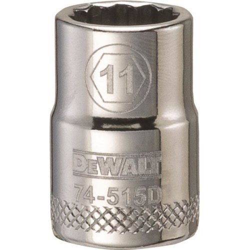 Stanley Tools 227923 11mm 12 Point Socket - 0.37 in. Drive