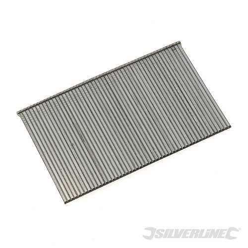 Silverline Finishing Nails 16 Gauge 2500pk 50 x 1.55mm, 16 Gauge - 398783 155mm -  16 gauge nails finishing silverline 2500pk 398783 x 155mm 50mm air
