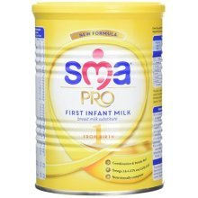 SMA Pro First Infant Milk from Birth 400 g (Pack of 12)