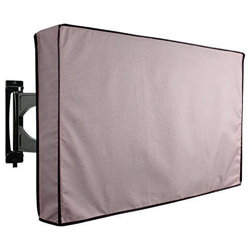 Outdoor TV Cover TITAN Series Universal Weatherproof Protector for 60 65 TV Fits Most Mounts Brackets