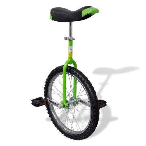 Green Adjustable Unicycle 20 Inch