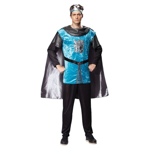 d64d1635c2e6 Men's Royal Knight Costume - Fancy Dress Medieval Mens King Adult Prince  Tudor - royal knight fancy dress medieval costume mens king adult prince on  OnBuy