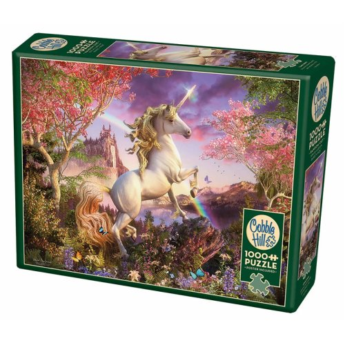 CBL80232 - Cobblehill Puzzles 1000 pc - Unicorn