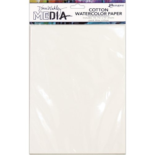Dina Wakley Media Cotton Watercolor Paper Pack-