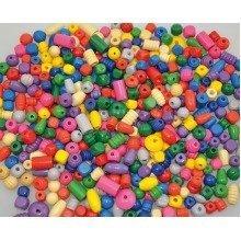 Pbx2470818 - Playbox - Wooden Beads (various) - 250g
