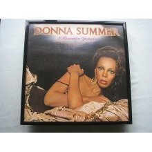 DONNA SUMMER I Remember LP cover framed for wall mounting BLACK