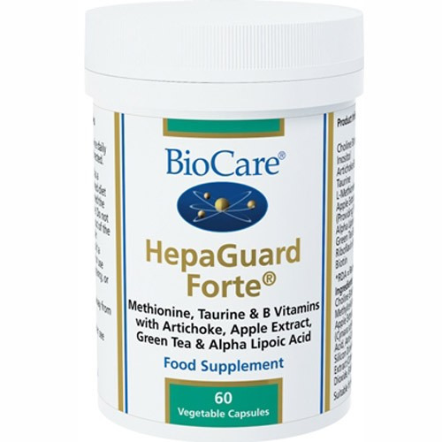 Biocare Hepaguard Forte (liver Support with Apple Extract)60 Caps
