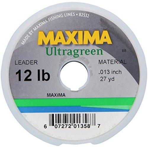 Maxima Leader Wheel (12-Pound Test ), Green, 27-Yard